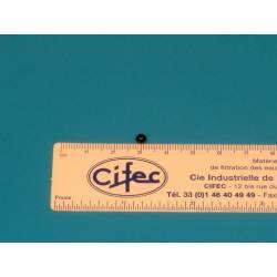 Bille verre de tube gradué 360 g/h réf 11K365.7