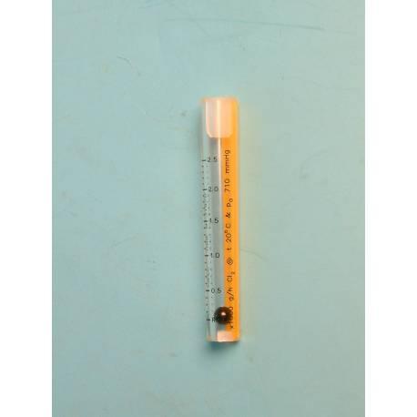 Tube gradué 81 mm 2500 g-h Cl2 -11KM319.JPG
