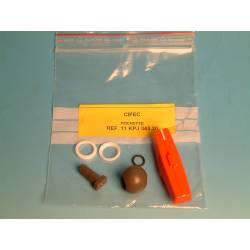 Pochette de joints vanne VITON 343 D20 réf 11KPJ343.20