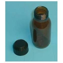 Flacon verre brun 60 ml réf 31010017