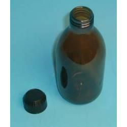 Flacon verre brun 500 ml réf 31010024