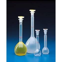 Fiole Jaugée Plastique 250 ml avec bouchon réf 31510200P