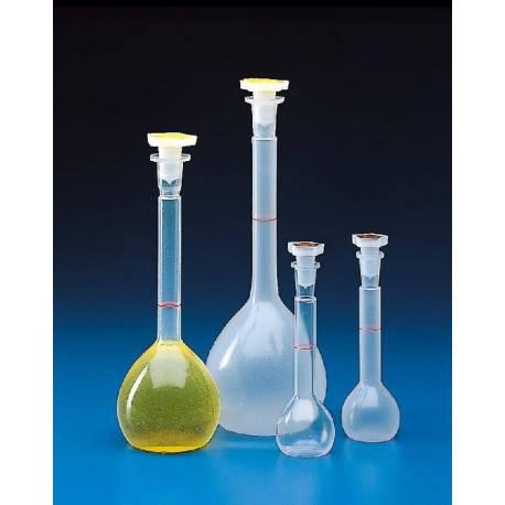 Fiole Jaugée Plastique 250 ml avec bouchon -31510200P.JPG