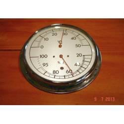 Thermomètre Hygromètre mural 20% à 100% et 0 degrés C à +50 degrés C réf 315522510