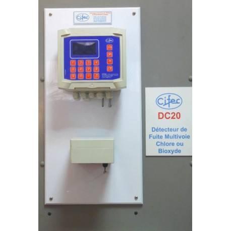 Détecteur de fuite de chlore multidirectionnel réf : 27KDC20