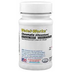 Bandelettes chrome hexavalent test papier par 50